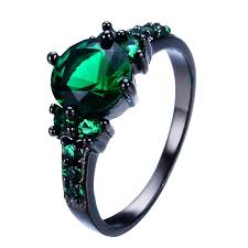 black gold rings images Black gold emerald ring the kit clubs jpg