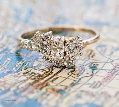 custom cluster v shaped ring bario neal engagement rings asymmetrical engagement rings
