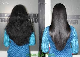 hair rebonding at home permanent hair styling straightening smoothening rebonding femin