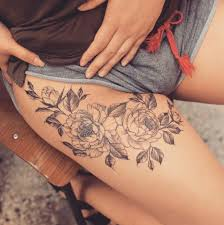 193 best thigh tattoos images on pinterest bird tattoos