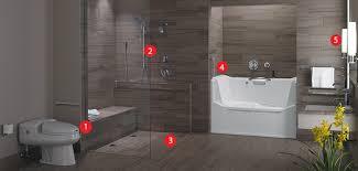 universal design bathroom astounding universal design bathrooms and bathroom remodel style