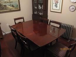 vintage mahogany dining room set u2022 1 599 00 picclick