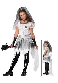 Skeleton Halloween Costume Kids Girls Bride Halloween Costume Halloween Costumes Pinterest