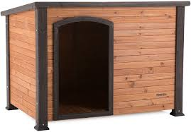 log cabin house precision pet products extreme outback log cabin dog house large