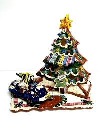 blue sky clayworks by heather goldminc christmas tree store and
