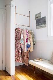 bedroom best 32 diy clothing racks images on pinterest within