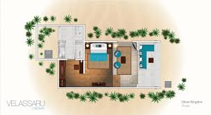 Bungalow Plans Maldives Beach Resorts Deluxe Bungalow Velassaru Maldives
