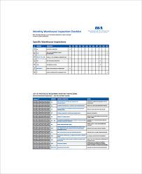 Inspection Checklist Template Excel Sle Inventory Checklist 10 Documents In Word Excel Pdf