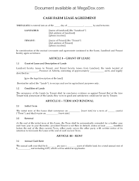 land lease agreement template alberta farm lease agreement forms and business