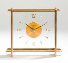 pendule de bureau jaeger lecoultre pendule de bureau en bronze et verre le cadran à