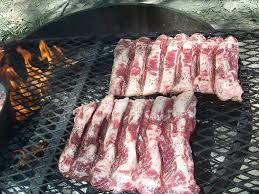 cowgirl u0027s country life beef ribs n beans on the fire