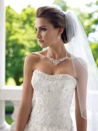 pearl necklace wedding dress images Wedding bridal or prom necklace earrings w rhinestones set ebay jpg