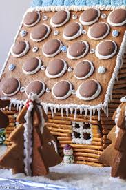 how to make a gingerbread house at home rustic log cabin vikalinka