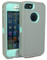 light blue iphone 5c case iphone 5 body armor case light gray on baby blue teal comparable to