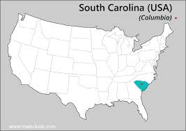 South Usa Map by South Carolina Time Time Now In South Carolina Usa