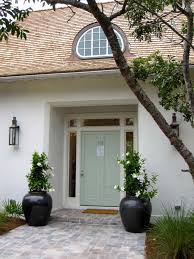 refresh front door with plant decoration ideas trends4us com