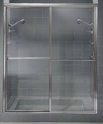 Shower Sliding Door Craftsman Series Crse 5 32 Glass Framed American Shower And Tub