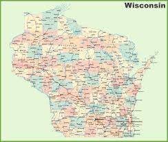 Map Of Wisconsin State Parks by Wisconsin State Map