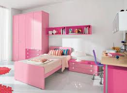 girls bedroom engaging red modern bedroom decoration using