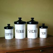 black kitchen canister sets black and white canisters ceramic kitchen canister sets for striped