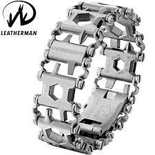 leatherman bracelet images Leatherman tread stainless steel bagnall and kirkwood jpg