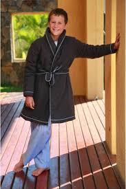 robe de chambre garcon robe de chambre garcon anthracite etoile l orangerie