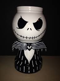 jack candy jars now this is cool made from clay pot body