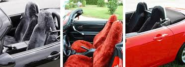 Auto Seat Upholstery Sheepskin Seat Covers Made For Maximum Comfort Free Shipping