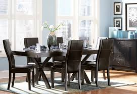 catchy rustic black dining room sets with distressed dining room