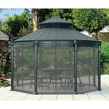 gazebo mosquito netting sunjoy universal ontario gazebo mosquito netting the home