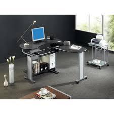 bureau informatique angle bureau informatique d angle noir 120 200cm achat vente bureau