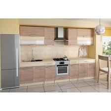 cuisine couleur bois cuisine complète de 3m20 elise couleur bois achat vente cuisine