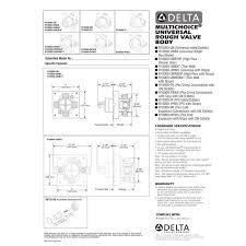 Installing Delta Kitchen Faucet by 40 Installing Delta Shower Valve Shower Valve Replacement Brass