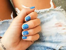 goldfish kiss greek doodle nails i have this awesome blue