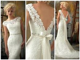 vintage style wedding dress vintage style lace wedding dress ostinter info