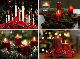 christmas candles decorating ideas decorating christmas ideas tips