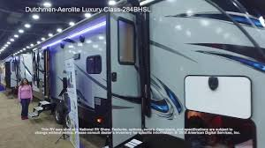 dutchmen aerolite luxury class 284bhsl youtube