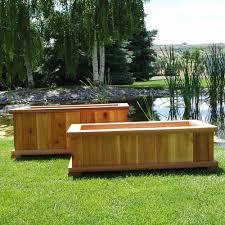 Backyard House Ideas Simple Diy Wood Raised Bed Garden Planter Box For Backyard House Ideas