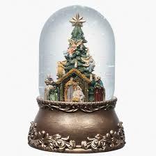 nativity musical snowglobe target