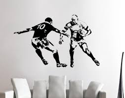mike brown rugby player wall art sticker sports vinyl mural wa618 image is loading mike brown rugby player wall art sticker sports