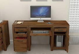 Wooden Computer Desk Plans Desk Wood Computer Desk With Hutch White Desk With Dark Wood Top