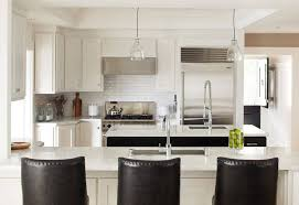 white kitchen cabinets with pleasing black and white kitchen