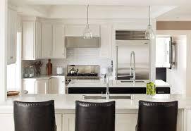 Led Backsplashes 2 Stools And Led Illuminated Interesting Black And White Kitchen