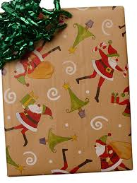 christmas kraft wrapping paper kraft wrapping paper