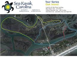 Kayak Map Online Guide Folly River Oak Island Sea Kayak Carolina Tours