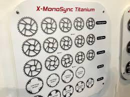 titanium chain rings images Eb13 new carbon ti titanium wide narrow chainrings lightweight jpg