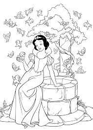 15 best disney coloring pages snow white images on pinterest