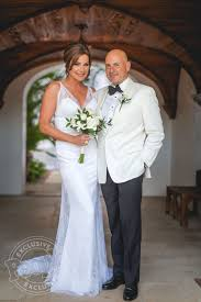 Celebrity Brides Who Wore Unconventional by Rhony U0027s Luann De Lesseps Wedding Dress Details People Com