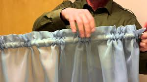 How To Hang Curtain Swags by Curtain Rod Pocket Dimensions Curtains U0026 Window Decor Youtube