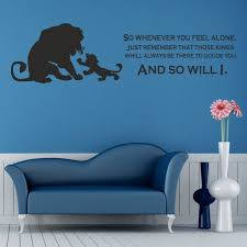 Decoration Lion King Wall Decals Home Decor Ideas - Disney wall decals for kids rooms
